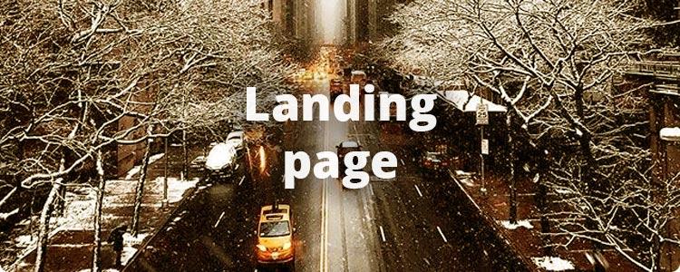 Landed pages ✈️ 4 продающих блока посадочной страницы